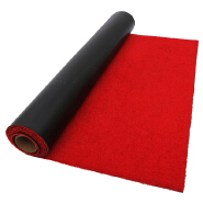 2019 New products ideas nylon red carpet runner roll packaging with customized size non slip doorma