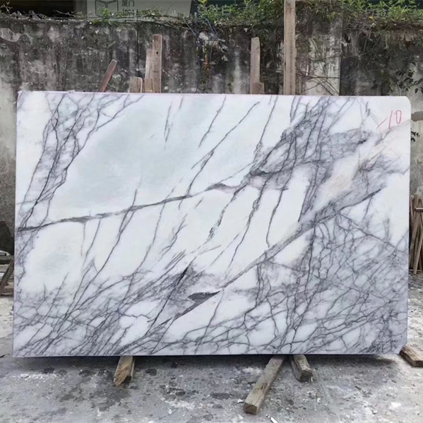 Natural Stone Lilac Marble Slab Polished For Decoration