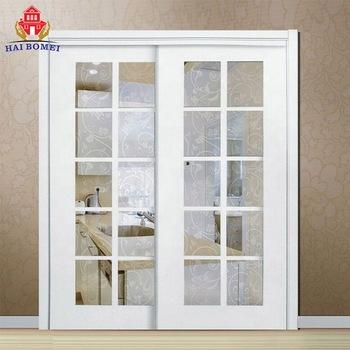 Modern Aluminium Sliding Tempered Glass Door Pictures