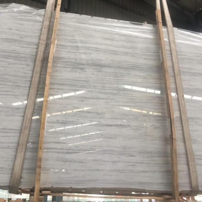 Natural White Vein Stone Project Cut to Size