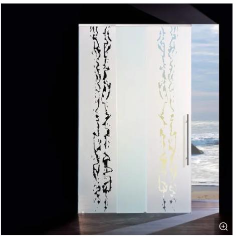Top Hang Aluminum Sliding Glass Door