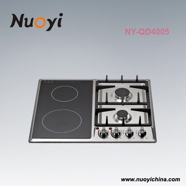 60cm 4 burner stainless steel gas electric cooker cooktop