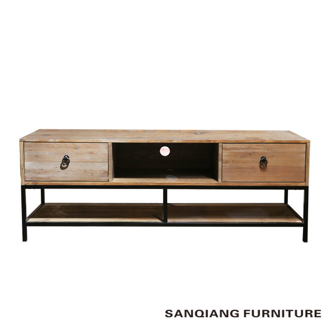 2017 new style modern living room furniture Latest MDF/particile board wood Versatile TV S cheap woo