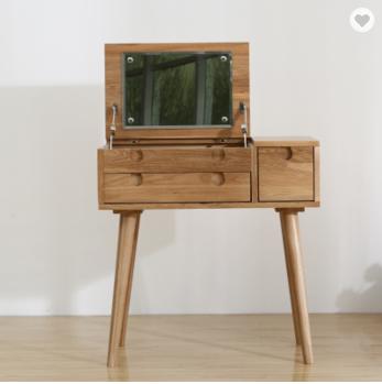 Solid wood modern dresser small house hlod make-up table creative bedroom dresser