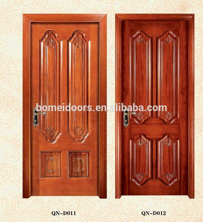 Safety carving wooden door for building house