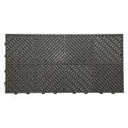 Waterproof pvc interlocking tiles for garage floor