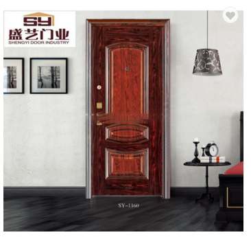 Top quality African style steel Top quality African style steel security door on sale