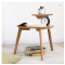 Modern solid wood sofa side table living room coffee table hot sale console table