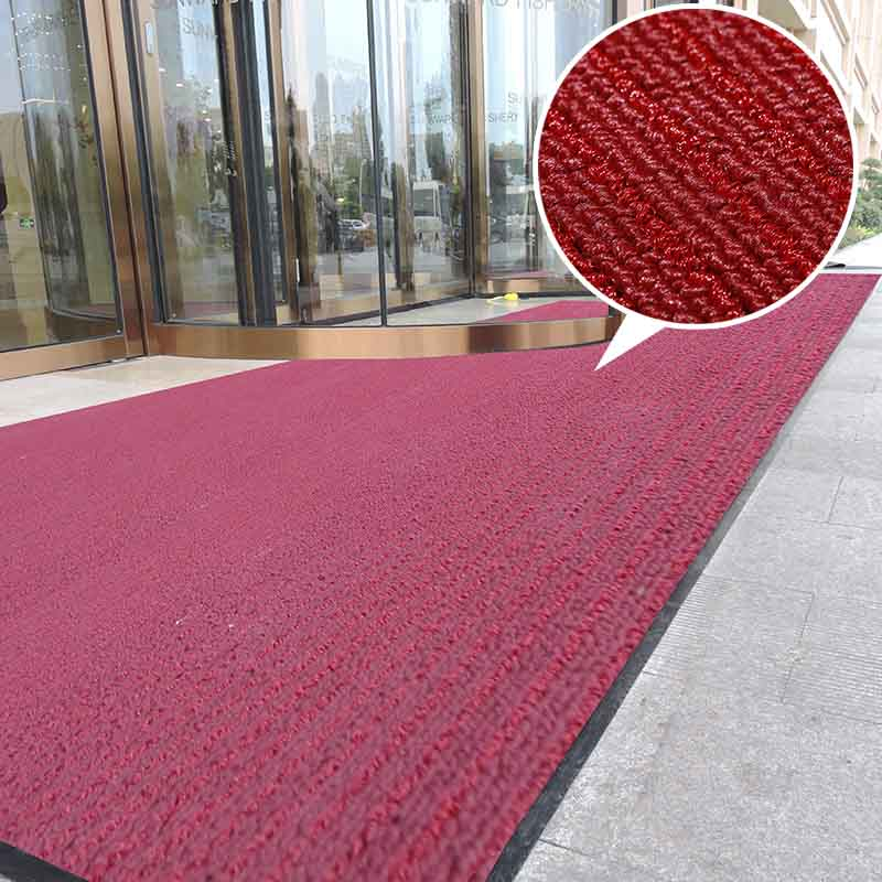Anti skid carpet for home office added pp monofilaments  door mats