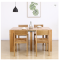 Modern solid wood dining table creative push-pull wooden dining table