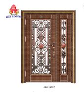 Cheap Price New design stainless steel swing security extrior door, stainless steel front door