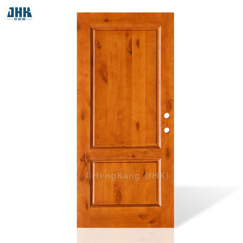 JHK-017 Most Popular Front Door Designs Solid Wood Door