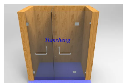 Easy Installation Glass Shower Door, Shower Screen