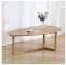 Modern solid wool living room tea table hot sale white oak coffee table