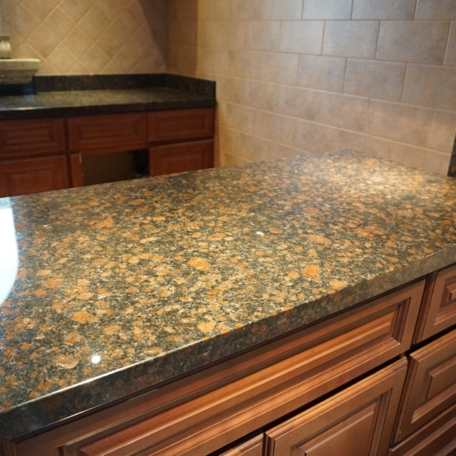Tan brown England imported granite