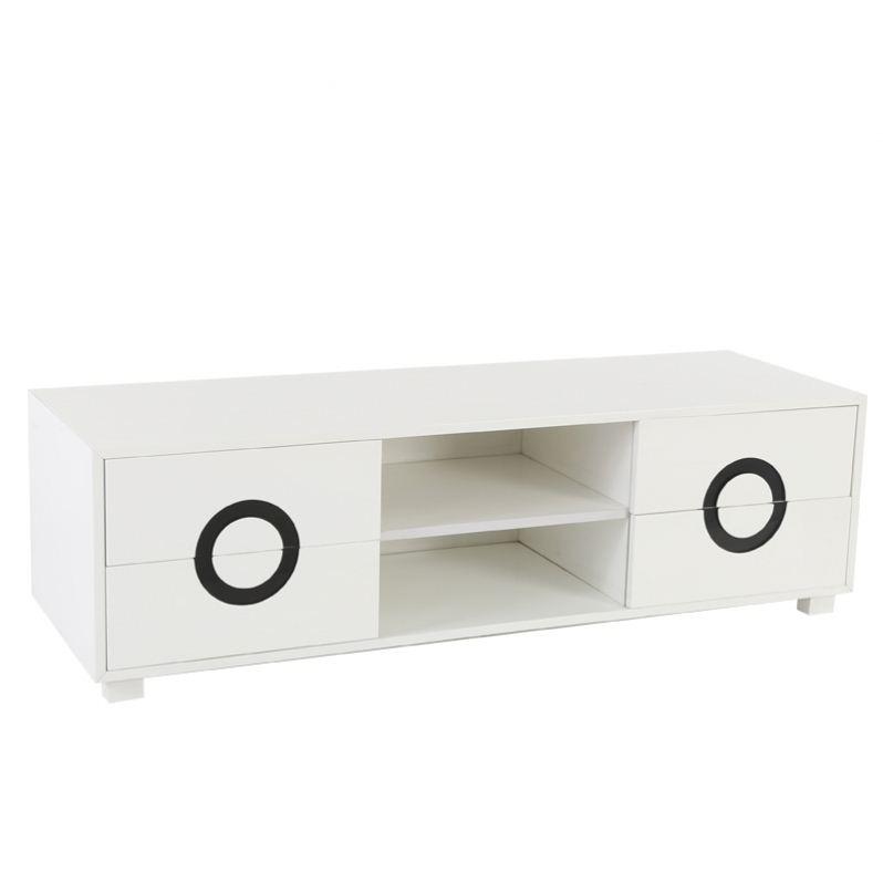2018 Popular livingroom furniture TV counter modern simple TV cabinet household solid wood TV cabinet