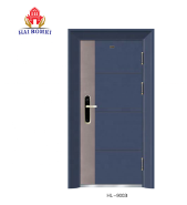 US Top Quality Wood Armored Security Steel Single Door