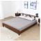 Modern solid wood bed hot sale white oak bedroom furniture 1.5M bed