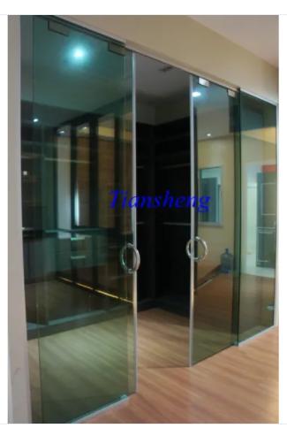 Frameless Exterior Glass Sliding Doors System