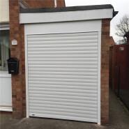 Bomei Factory Aluminum Grill Design Automatic Garage Roller Shutter Door