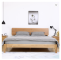 Simple solid wood bed white oak modern 1.5M bed