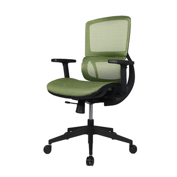 Black White Frame Nylon Base  Executive Full Mesh Seat Office Chair for Project