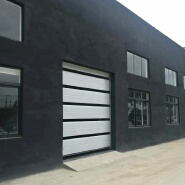Automatic Steel Folding Top Hanging Sectional Door for Garage or Industry