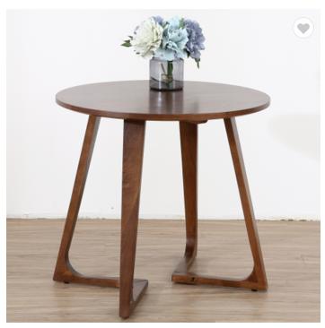 Modern solid wood walnut coffee table simple white oak tea table hotel coffee table