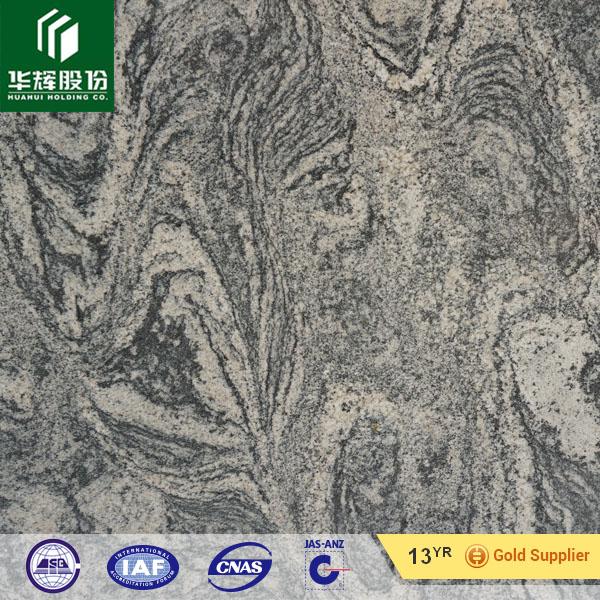 China Juparana granite, black color granite, crazy veins granite slabs, tiles, steps