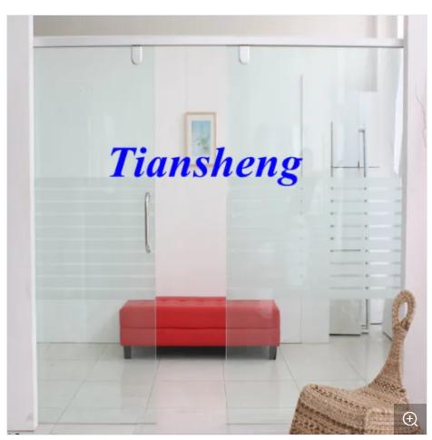Stacking Sliding Glass Doors Folding Partition Wall Frameless Sliding Folding Glass Door Double Pane