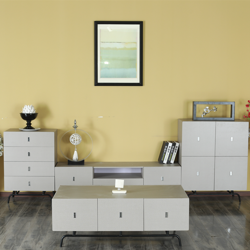 Luxury Style Two Doors Living Room Cabinet, Long Drawers drawer wooden cabinet,  Luxury Living Room Furniture