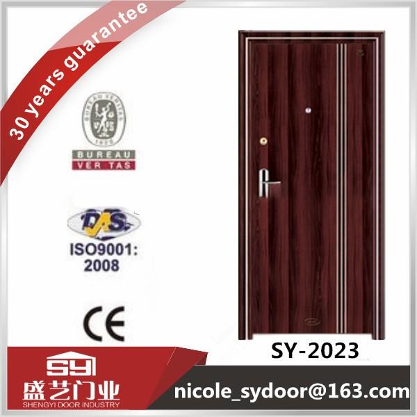 Turkey design exterior steel security door