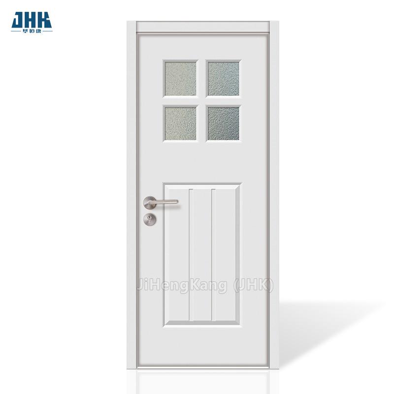 JHK-G32-1 Luxury Pakistan Decorative Wooden Door Caved