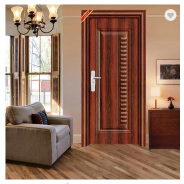 Good quality interior iron door cheap price steel room door