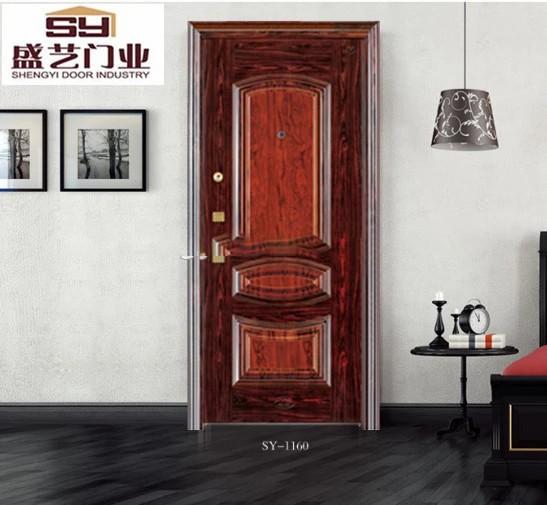 Top quality African style steel security door on sale