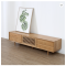 Solid wood modern TV cabinet with drawers simple Nordic style small household TV stand