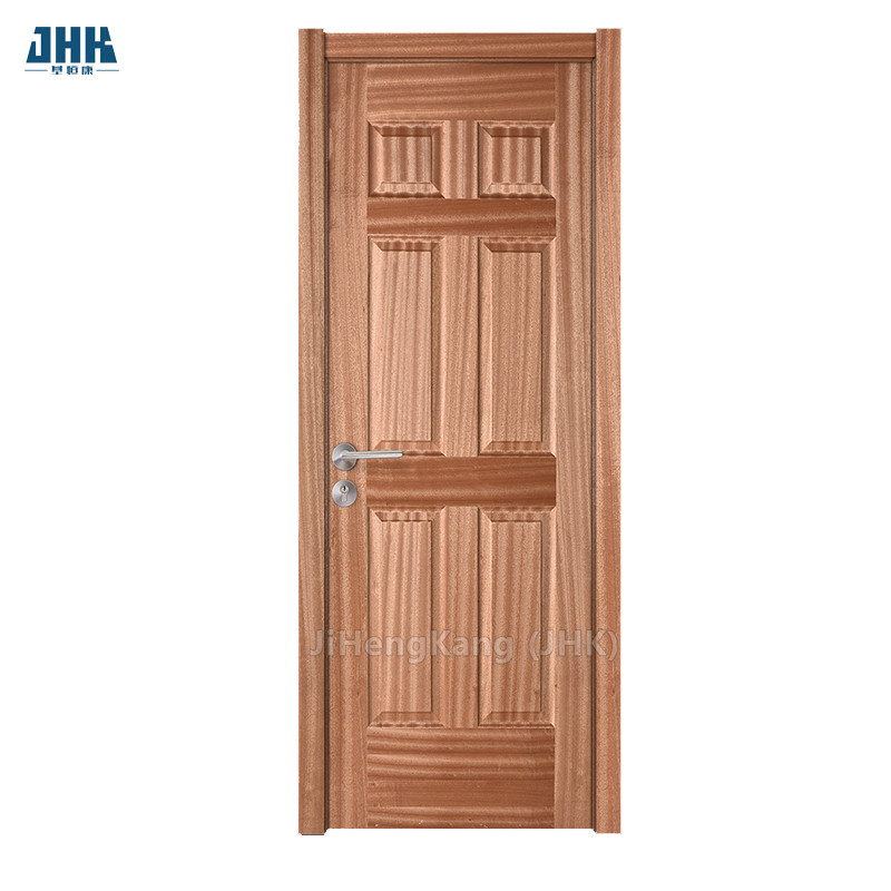 JHK- 006 FSC Certified Pine Frame Wood Door Floor To Ceiling Internal Doors