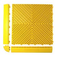 wholesale New Model Flooring Tiles heavy duty Anti-slip pvc flooring for carwash