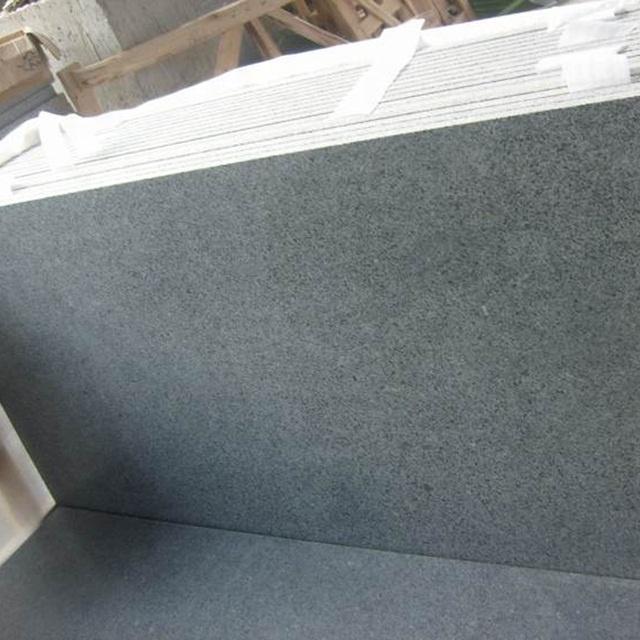 Polished Dark Grey Granite Price, G654 Padang Dark Big Slab