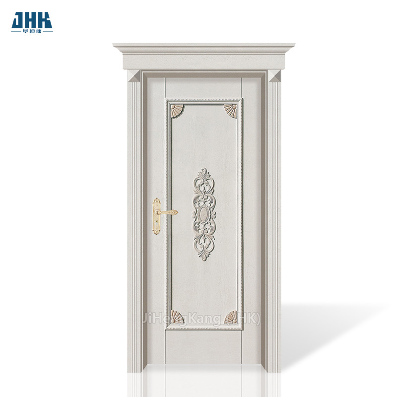 JHK- 001-CS Luxury Design Solid Wood Carved Kerala Polish Internal Doors