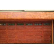 Automatic aluminum alloy panel top hanging fold up garage door
