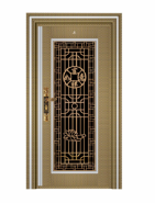 Chinese Style Stainless Steel Door Single Exterior Door