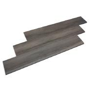 Dark Grey Rustic Anti Slip Bathroom Floor Wooden Style Tile