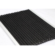 Ground protection dust control aluminum frame outdoor entrance mats