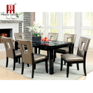 Wholesale French Modern Design Wooden Luxury Dining Room Upholstered Fabric Velvet Dining Chair