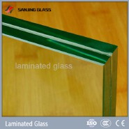 10mm laminated glass balusters for stairs