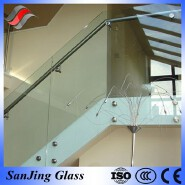 10.38mm laminated safety glass for stairs
