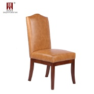 mid century nordic vintage pu leather 5 star hotel dining room chairs