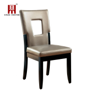 Strick & Bolton Tosa Keyhole Leatherette Dining Chairs