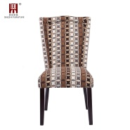 16 years factory modern italian restaurant upholstered wooden dining chair